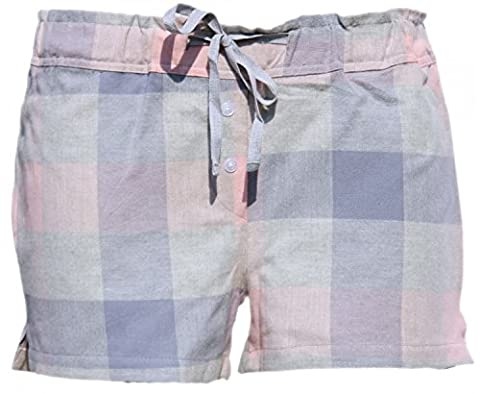 By Louise von MG-1 Damen Flanell Panty Shorty Hipster Schlafhose FARBWAHL , Grösse:S - 36;Farbe:DESIGN 04