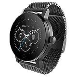 Bluetooth Smart Watch mit SIM-Kartenschlitz, entsperrt Wasserdichte Touchscreen-Armbanduhr, Kamera-Controller Bluetooth Uhr für iPhone Android Samsung Männer Frauen