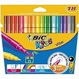 Bic Kids Visa Etui carton de 18 Feutres de coloriage