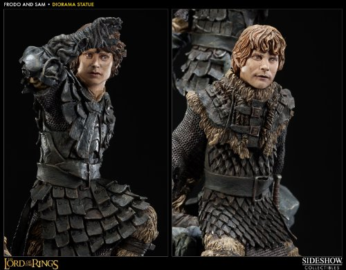 The Lord of the Rings - Frodo Baggins & Samwise Gamgee Statue (japan import) 3