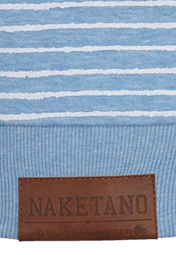 Naketano Murder He Wrote II W sweat à capuche Amazing blue Melange