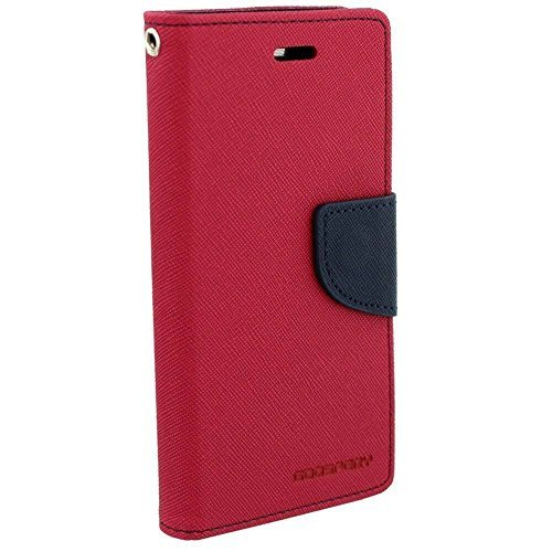 Mercury Goospery Fancy Diary Wallet Flip Cover Case for Samsung Galaxy Grand 2 (G-7106/ 7102) (Hot Pink)  available at amazon for Rs.229