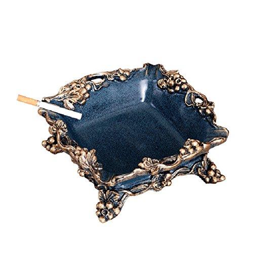 (WAYMX Europäische Retro Aschenbecher Kreative Juwel Dish Keramik Aschenbecher Auto Ornament Hauptlieferung Dekoration Valentinstag Geschenke)