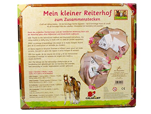 Horse Friends Pony Club Craft Set  37 5 x 28 5 x 14 cm  Model  12216