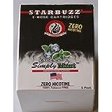 Lot de 8 Cartouches Starbuzz Simply Mint
