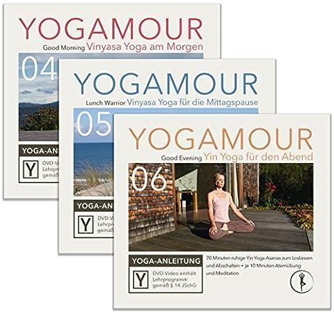 Spar-Set: Yoga für jede Tageszeit - 3 YOGAMOUR DVDs für