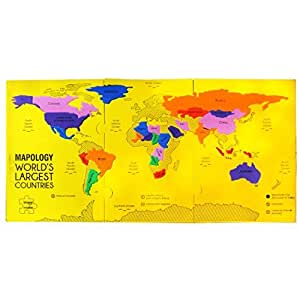 Imagimake Mapology : Worlds Largest Countries