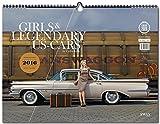 Girls & legendary US-Cars 2016: Wochenkalender