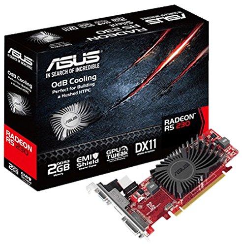 ASUS R5230-SL-2GD3-L AMD Radeon R5 230 2GB - Tarjeta gráfica (AMD, Radeon R5...