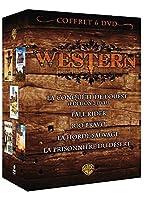 Coffret Western - La conquête de l'Ouest + Pale Rider + Rio Bravo + La horde sauvage + La prisonnière du désert