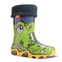 Demar Children´s Lined Wellington Boots Twister Lux