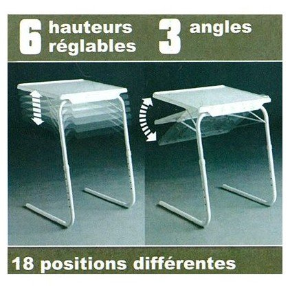 Table d'appoint pliable