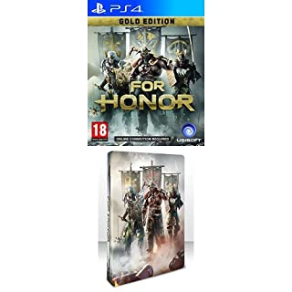 For Honor Gold Edition + Steel Book (PS4) (Exclusive to Amazon.co.uk) (B01N4S38V0) | Amazon price tracker / tracking, Amazon price history charts, Amazon price watches, Amazon price drop alerts