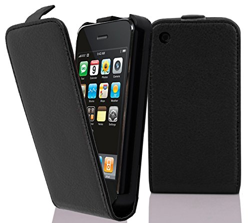 Cadorabo – Flip Style Case for Apple iPhone 3G / 3GS – Shell Etui Cover Protection Skin in OXIDE-BLACK