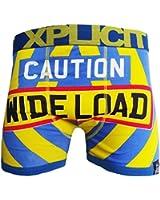 Mens Brand New Novelty Designer Boxer Shorts Mens Funny Rude Banana Boxers S-XXL