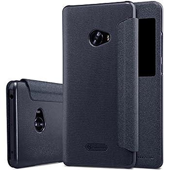OFU® Xiaomi Mi note 2 Slim Armor Coque Étui Housse en Cuir Véritable Housse/Flip Case pour Xiaomi Mi note 2-noir
