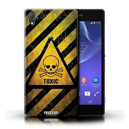 Coque de Stuff4 / Coque pour Sony Xperia Z2 / Radiation Design / Signes de Danger Collection Toxique/Crâne