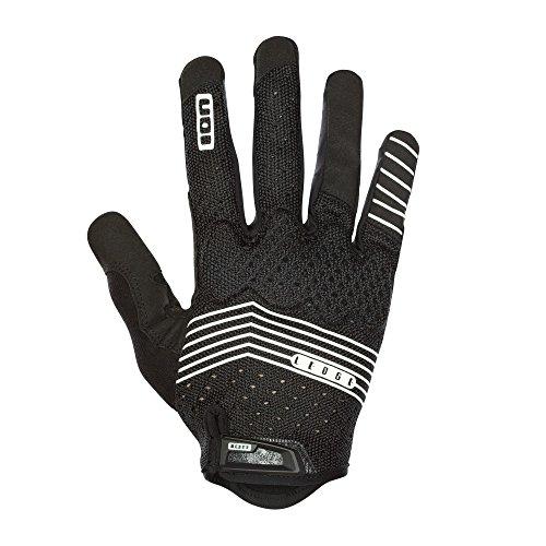 Ion Ledge MX DH FR Fahrrad Handschuhe lang schwarz/weiß 2018: Größe: L