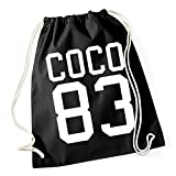 Certified Freak Coco 83 Borsa De Gym Nero