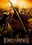 De el Señor de los anillos: el retorno del rey Póster de película I 11x 17en–28cm x 44cm Elijah madera Ian McKellan Viggo Mortensen Sean Astin Liv Tyler Billy Boyd