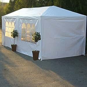 3m x 6m Pavillon de réception, Tentes de réception, Chapiteau de jardin, Tente de cérémonie, Pavillons tonnelle, Barnum