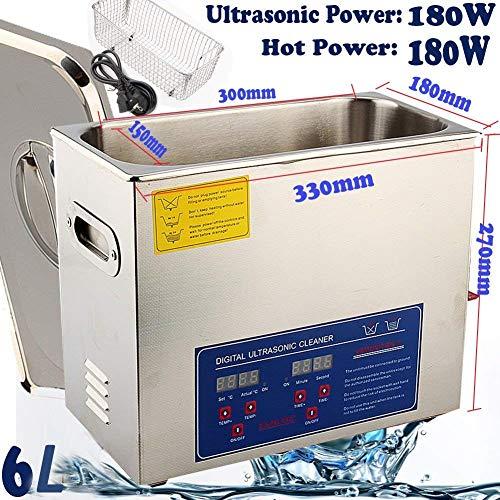 1.3-30L Ultrasonic Ultraschallreinigungsgerät Ultraschallreiniger Reinigung (6L)