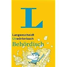 Langenscheidt Unwörterbuch Behördisch
