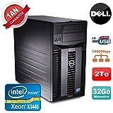 Server Dell PowerEdge T310Xeon Quad Core X344032GB RAM ecc 2TB SATA