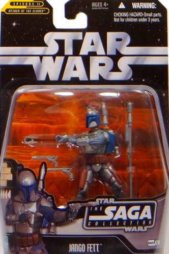 Jango Fett Battle of Geonosis TSC020 - Star Wars The Saga Collection 2006 von Hasbro