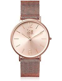 ICE-Watch - 012710 - City Milanese - Cadran Or - Bracelet Acier Rose - Small - 2H