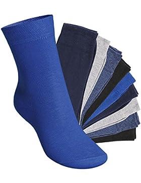 [Patrocinado]Footstar EVERYDAY! KIDS - 10 pares de calcetines para niños - Calidad de celodoro - Disponibles en varios colores...