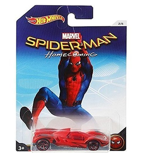 Hot Wheels 2017 SPIDER MAN HOMECOMING SCOOPA DI FUEGO