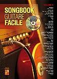 Songbook Guitare Facile (Volume 1) - 1 Livre + 1 Disque (Audios/Vidéos)