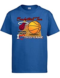 Camiseta NBA Miami Heat Baloncesto Basketball Fan I Love This Game