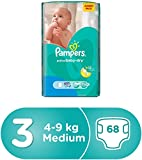 Pampers Active Baby Dry M Diapers (68 Pieces)