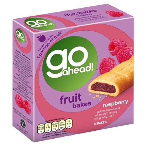 McVitie's Go Ahead Raspberry Fruit Bakes 6 x 35g