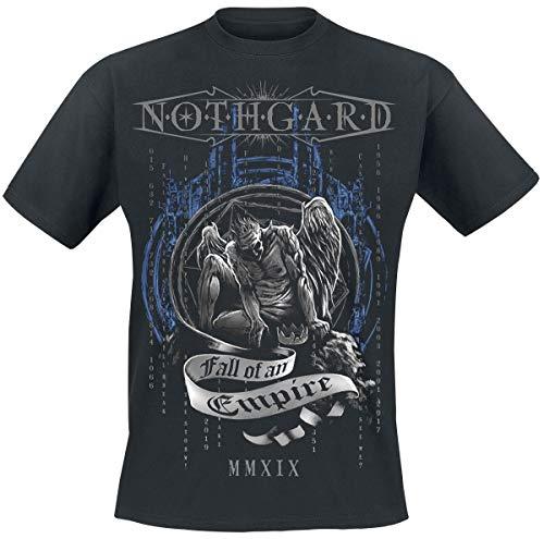 Nothgard Fall of An Empire T-Shirt schwarz L