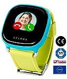 XPLORA 1 - Telefonuhr für Kinder (OHNE SIM-Karte) - Telefonieren, Mitteilungen senden und empfangen, Ruhezeiten, Sicherheitszonen, SOS, GPS-Ortung, Kalender (BLAU)
