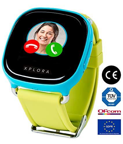 XPLORA Smartwatch para niños, SIM no incluida (AZUL)
