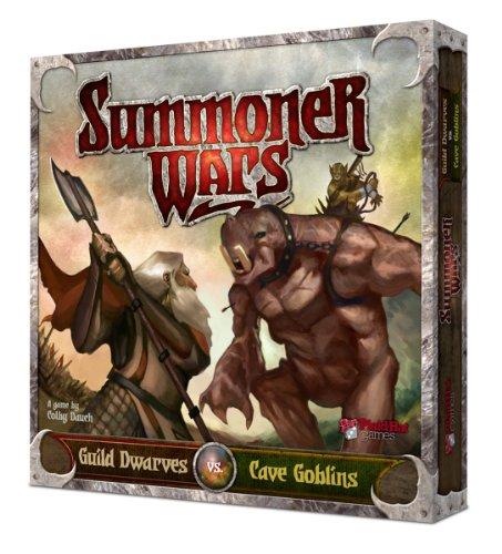 Preisvergleich Produktbild Plaid Hat Games SWGDC - Summoner Wars: Guild Dwarves verses Cave Goblins Starter
