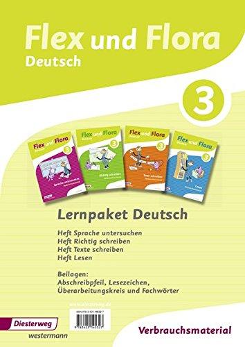 Flex und Flora - Ausgabe 2013: Paket Deutsch 3 -