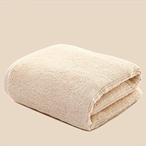 Morbido cotone asciugamani telo mare ( Colore : Arancia ) Cammello