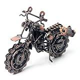 Signstek Retro Classic handgefertigt Eisen Motorrad Metall Motorrad Sammlerst Art Skulptur Motorrad Modelle