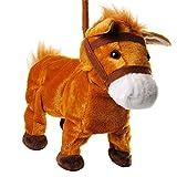 alles-meine GmbH XL - laufendes, wieherndes & tanzendes -  Pferd / Pony mit Leine & Stab  - Plüschtier mit Sound - Musik & Bewegung - aus Stoff / Plüsch - Pferde - Tier - SI.. Vergleich
