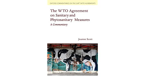 Buy The Wto Agreement On Sanitary And Phytosanitary Measures A