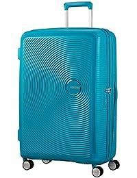 AMERICAN TOURISTER Soundbox - Spinner 67/24 Expandable Equipaje de mano, 67 cm, 71.5 liters, Turquesa (Summer Blue)