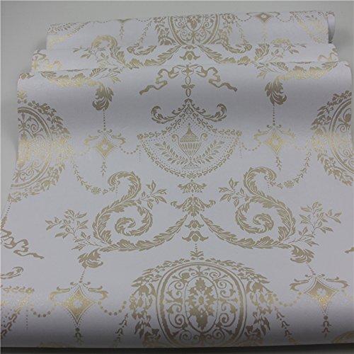 Zhzhco Selbstklebende Pvc-Tapeten Tapeten In Warmen Schlafzimmer Wohnzimmer Tv Hintergrund Tapete Tapete Wasserdicht 45Cm*10M