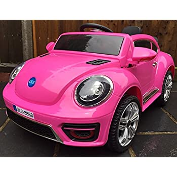 this item kids convertible bug electric battery 12v ride on car pink