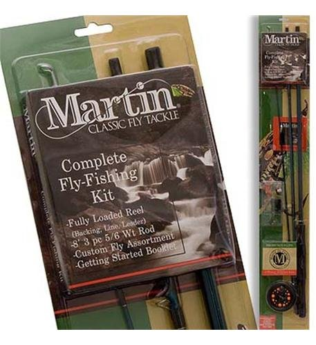 Zebco Sales Co. LLC Martin Complete Fly Rod Kit -