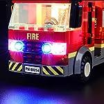 LIGHTAILING-Set-di-Luci-per-City-Fire-Fiamme-al-Burger-Bar-Modello-da-Costruire-Kit-Luce-LED-Compatibile-con-Lego-60214-Non-Incluso-nel-Modello